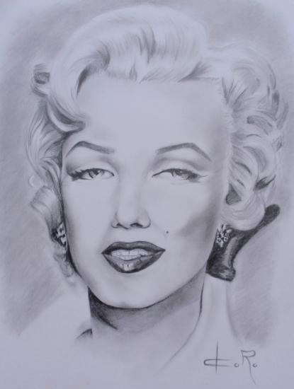 Marilyn Monroe by Doro